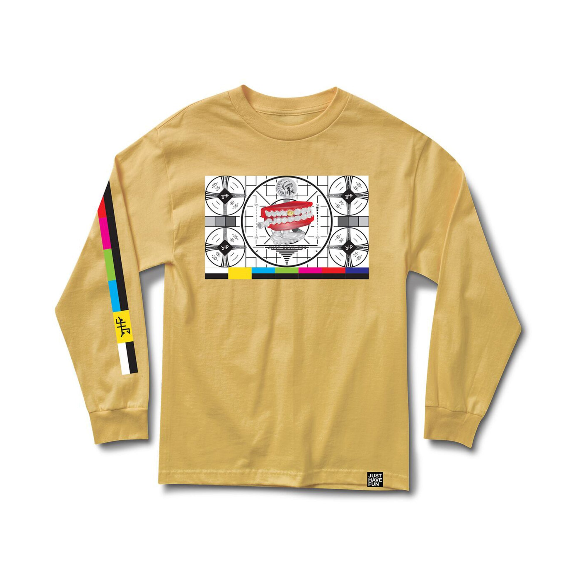 Stand By L/S Tee Yellow
