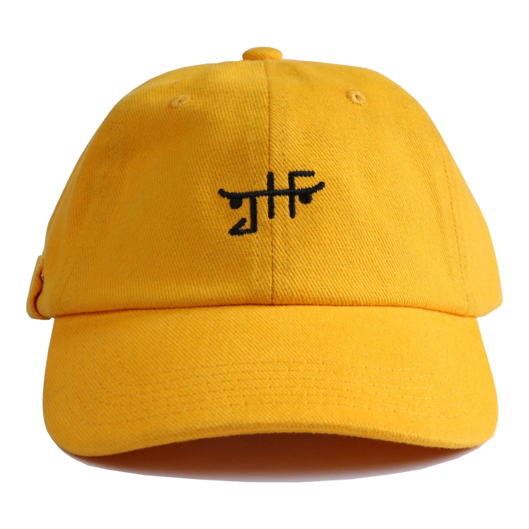 Classic Skate Dad Hat Gold/Black