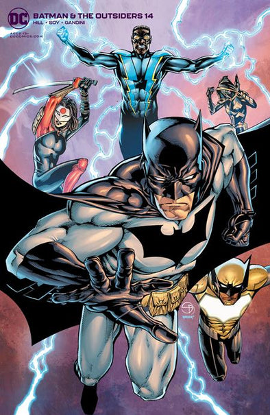 Batman and the Outsiders (2018) #14 (Michael Golden Variant)