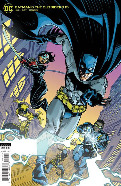 Batman and the Outsiders (2018) #15 (Cully Hamner Variant)