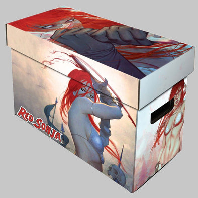 BCW Red Sonja Short Comic Book Box