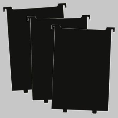 BCW Comic Book Bin Partitions - Black