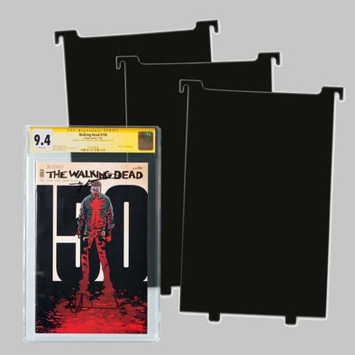 BCW Graded Comic Book Bin Partitions - Black