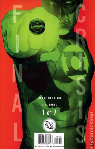 Final Crisis (2008) #01 (Cover B Variant)