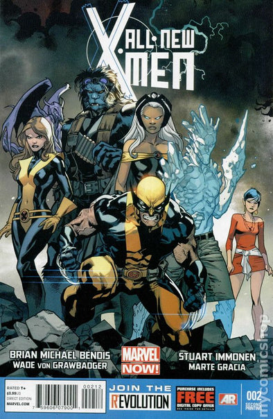 All-New X-Men (2012) #02 (2nd Printing)
