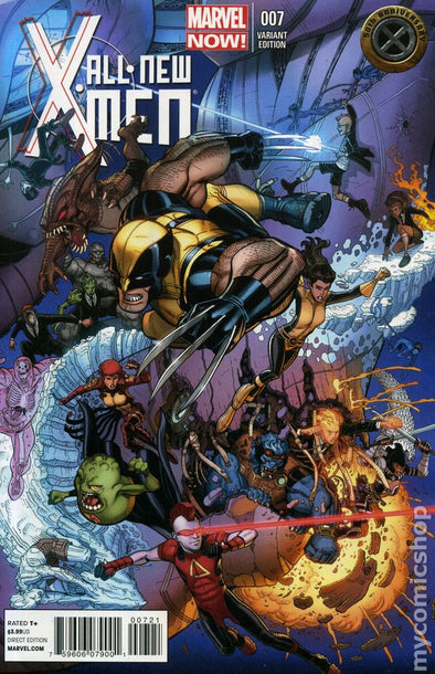All-New X-Men (2012) #07 (50th Anniversary Variant)