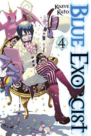 Blue Exorcist TP Vol. 04