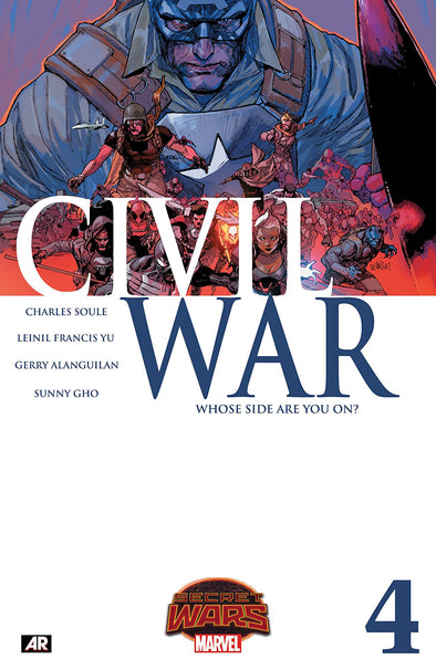 Civil War (2015) #04