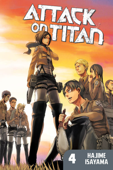 Attack on Titan TP Vol. 04