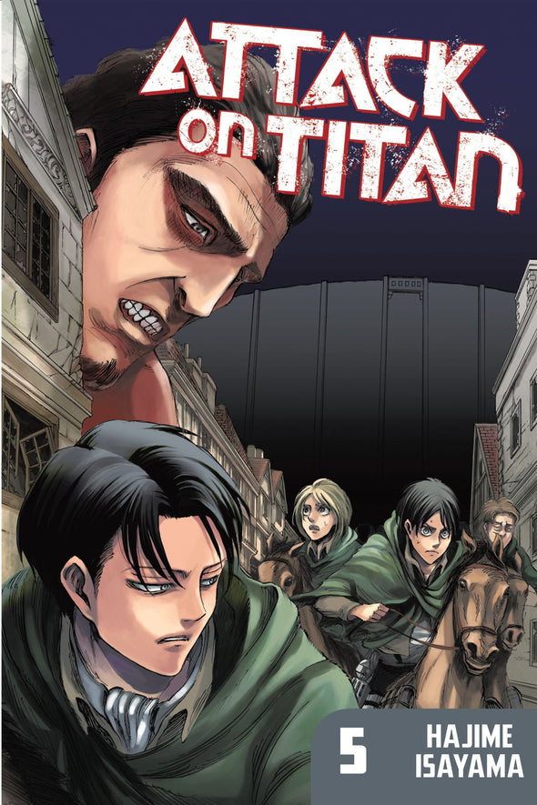 Attack on Titan TP Vol. 05