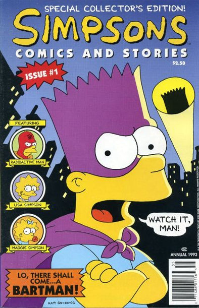 Simpsons Comics and Stories #01