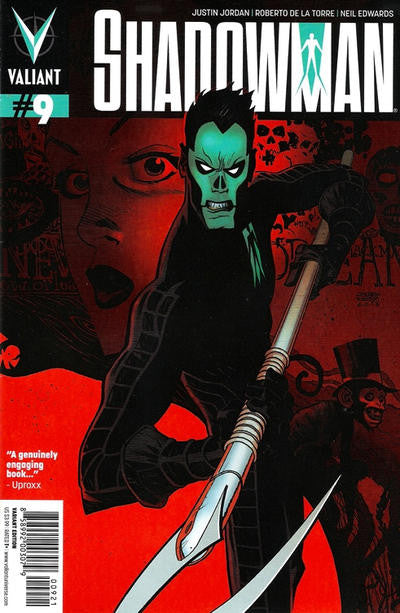 Shadowman (2012) #09 (Variant Cover)