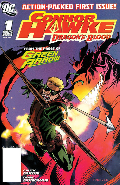 Connor Hawke: Dragon's Blood (2007) #01