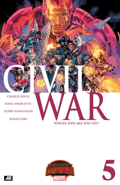 Civil War (2015) #05