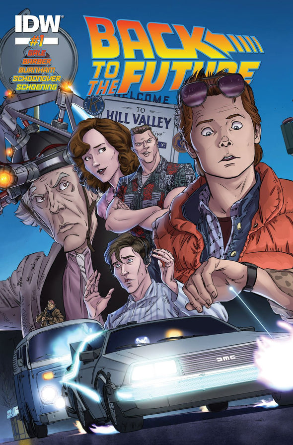 Back to the Future (2015) #01