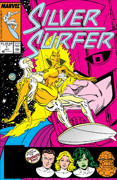 Silver Surfer (1987) #001