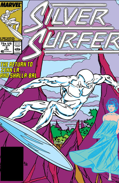 Silver Surfer (1987) #002