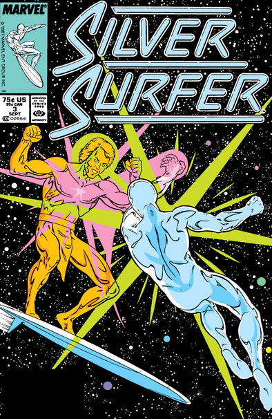 Silver Surfer (1987) #003