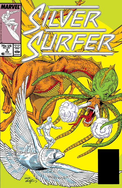 Silver Surfer (1987) #008