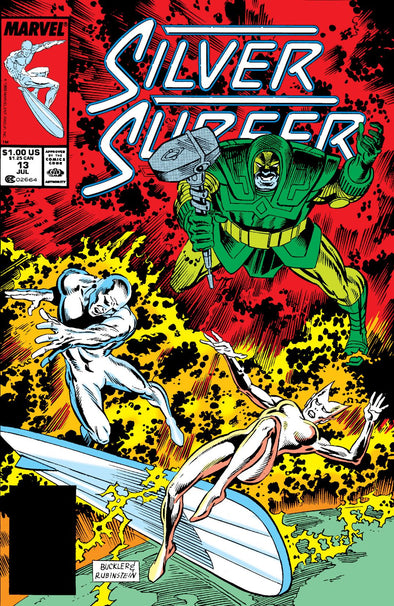 Silver Surfer (1987) #013