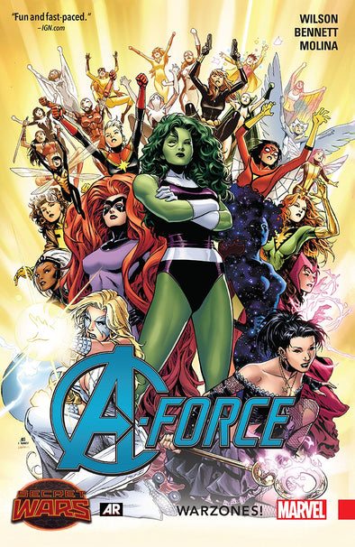 A-Force (2015) TP Vol. 00 Warzones