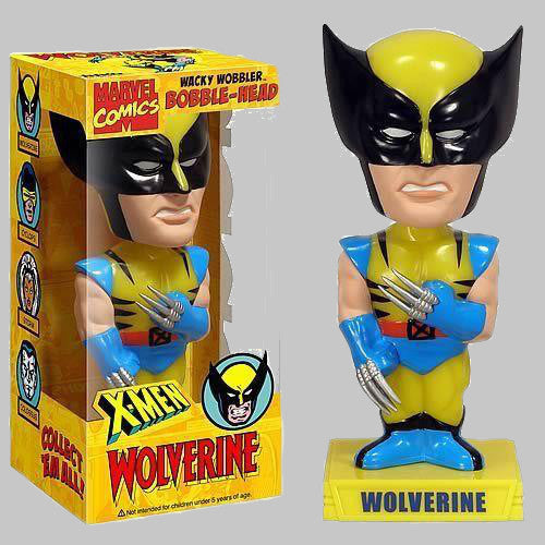 Wolverine Wacky Wobbler Bobble-Head Figure