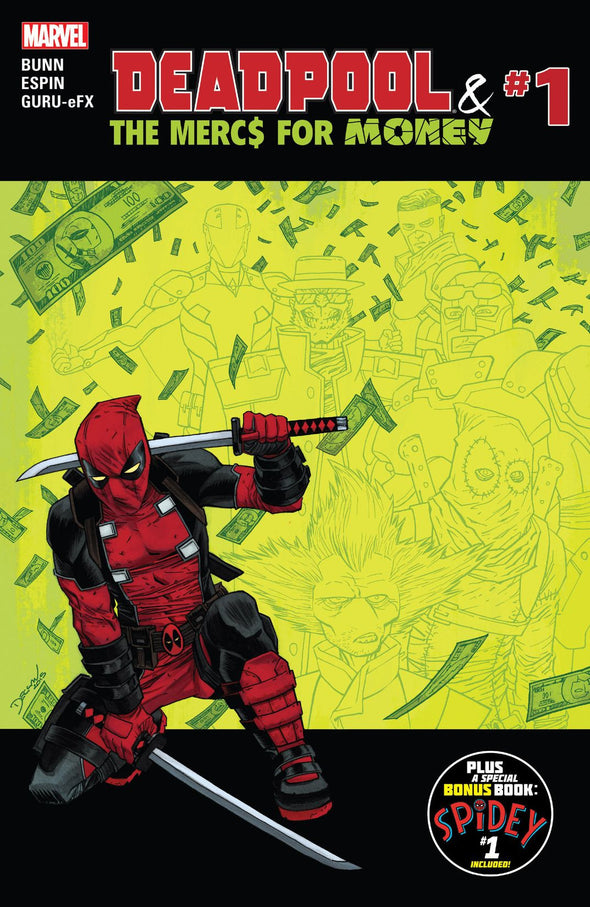 Deadpool and The Mercs For Money (2016) #01