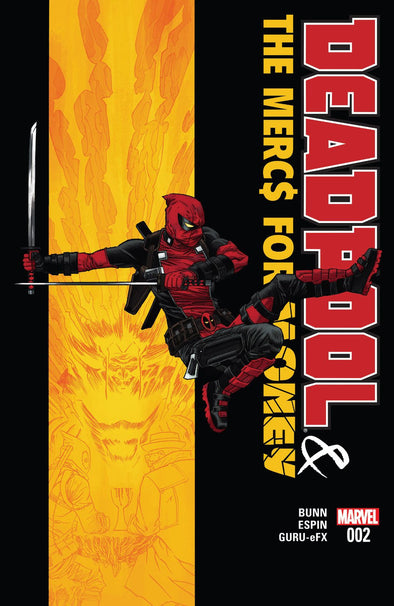 Deadpool and The Mercs For Money (2016) #02