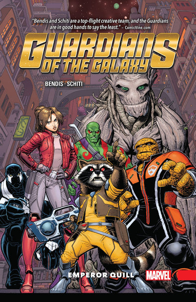 Guardians of the Galaxy (2015) TP Vol. 01