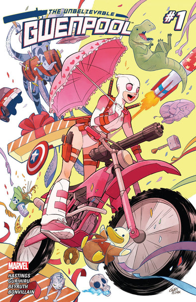 Gwenpool, The Unbelievable (2016) #01