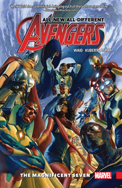 All-New All-Different Avengers (2015) TP Vol. 01