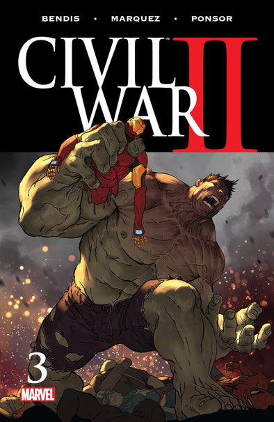 Civil War II (2016) #03