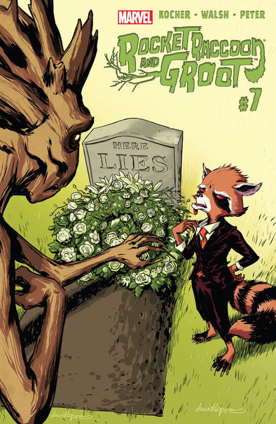 Rocket Raccoon & Groot (2016) #07