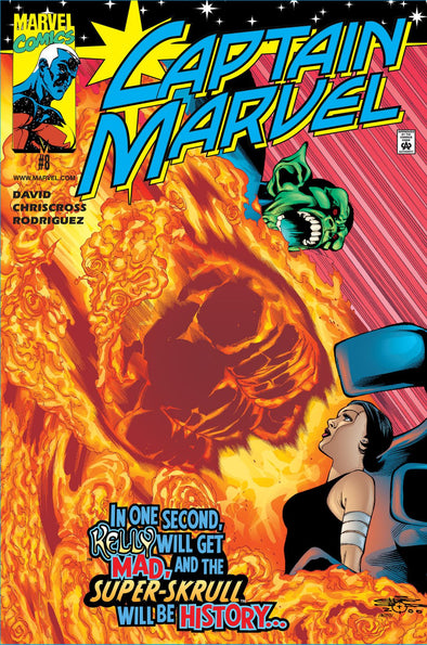 Captain Marvel (2000) #08