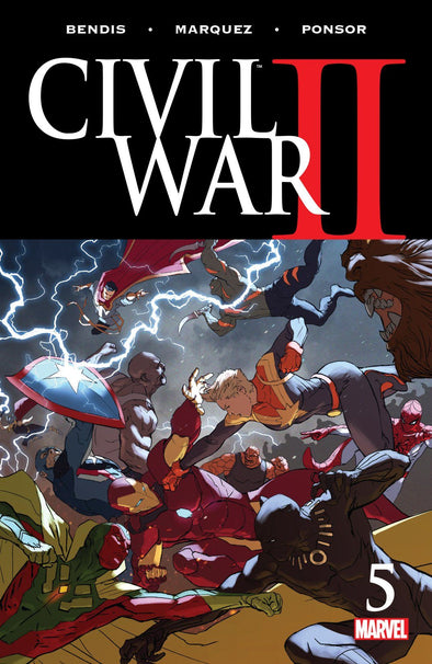 Civil War II (2016) #05