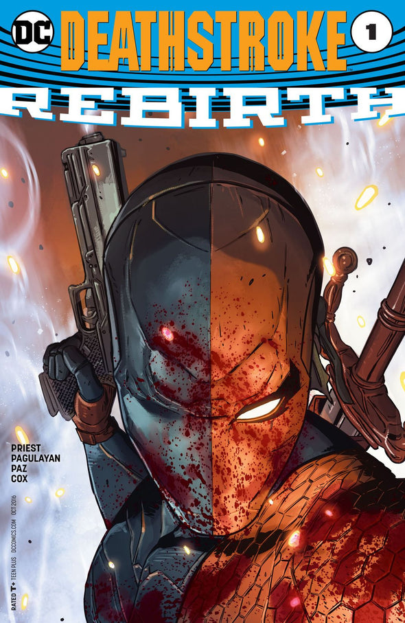 Deathstroke: Rebirth (2016) #01