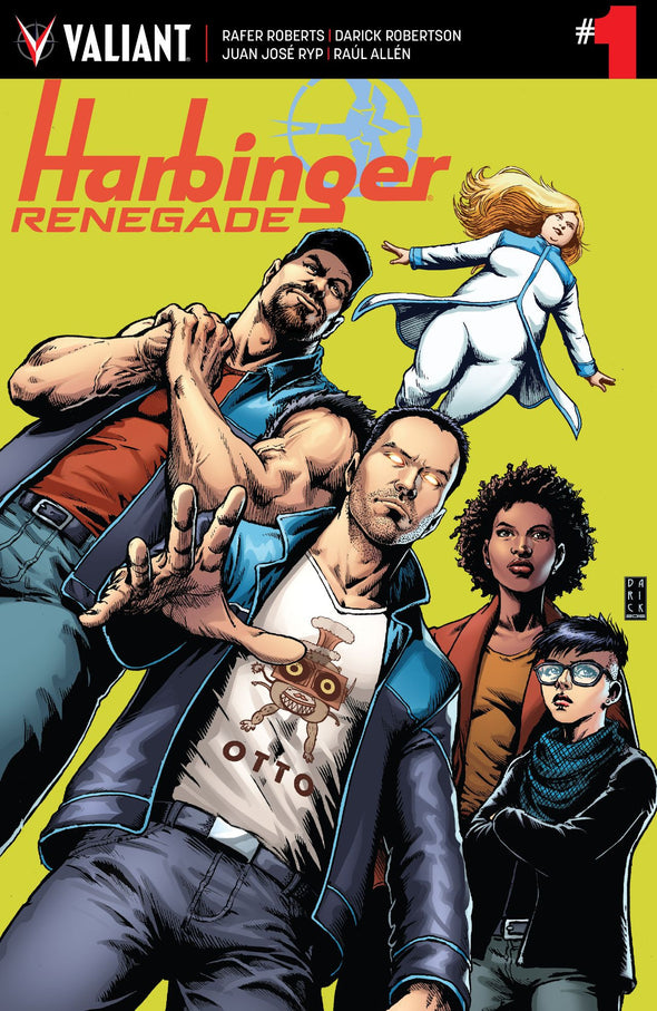 Harbinger: Renegade (2016) #01 (SECOND PRINTING)