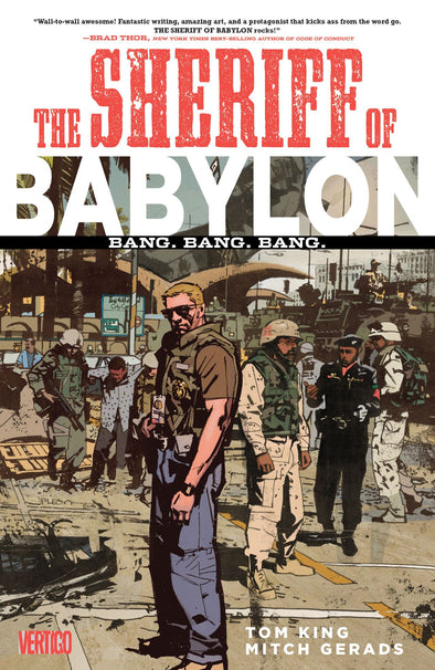 Sheriff of Babylon (2015) TP Vol. 01: Bang Bang Bang