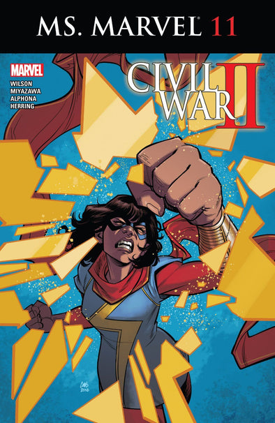 Ms. Marvel (2015) #11