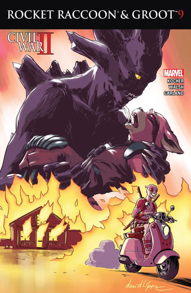 Rocket Raccoon & Groot (2016) #09