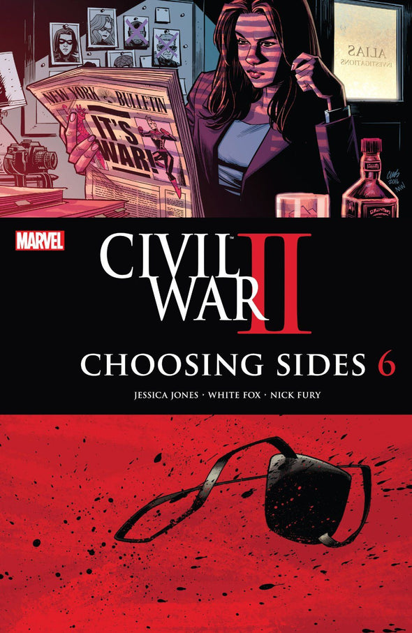 Civil War II: Choosing Sides (2016) #06