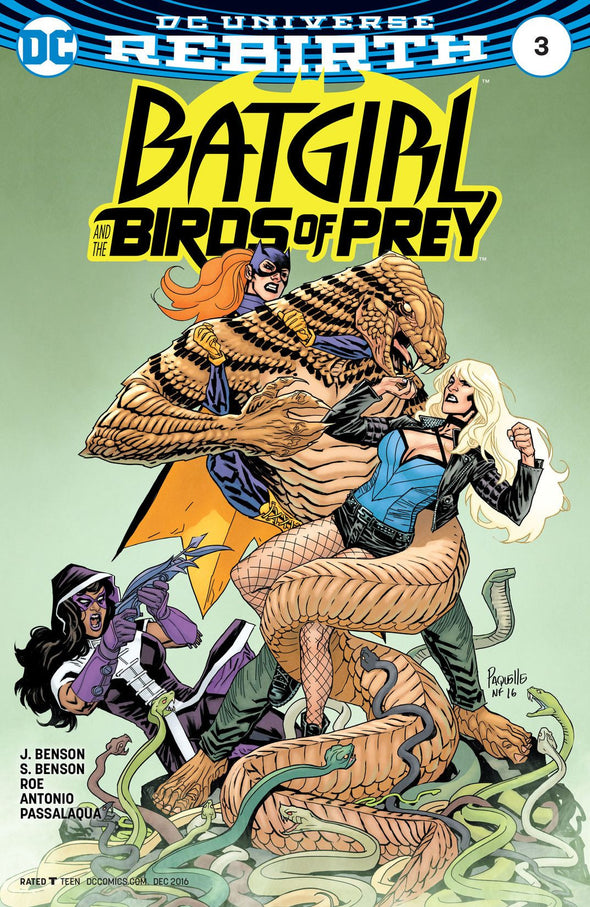 Batgirl and the Birds of Prey (2016) #03