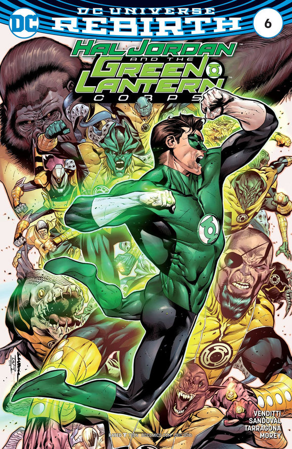 Hal Jordan and The Green Lantern Corps (2016) #06