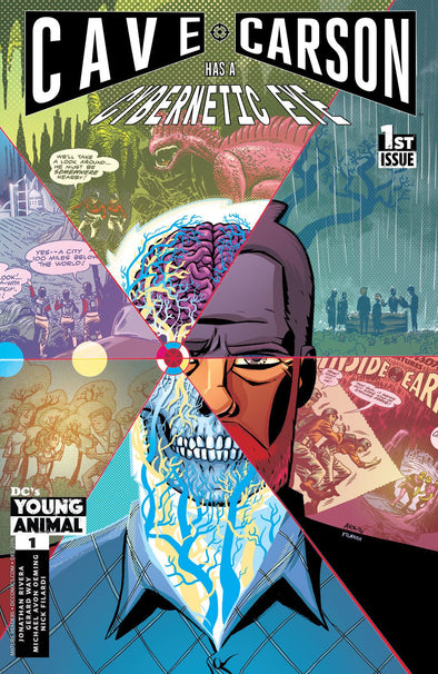 Cave Carson Has a Cybernetic Eye (2016) #01