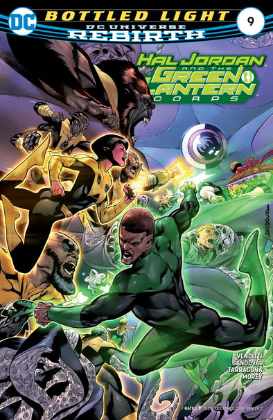 Hal Jordan and The Green Lantern Corps (2016) #09