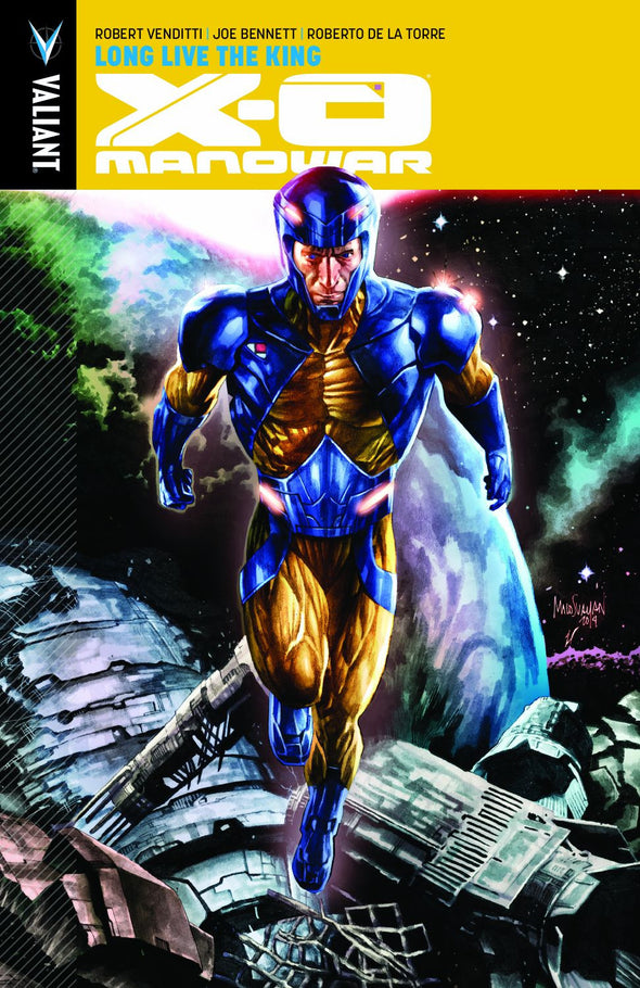 X-O Manowar (2012) TP Vol. 12: Long Live the King