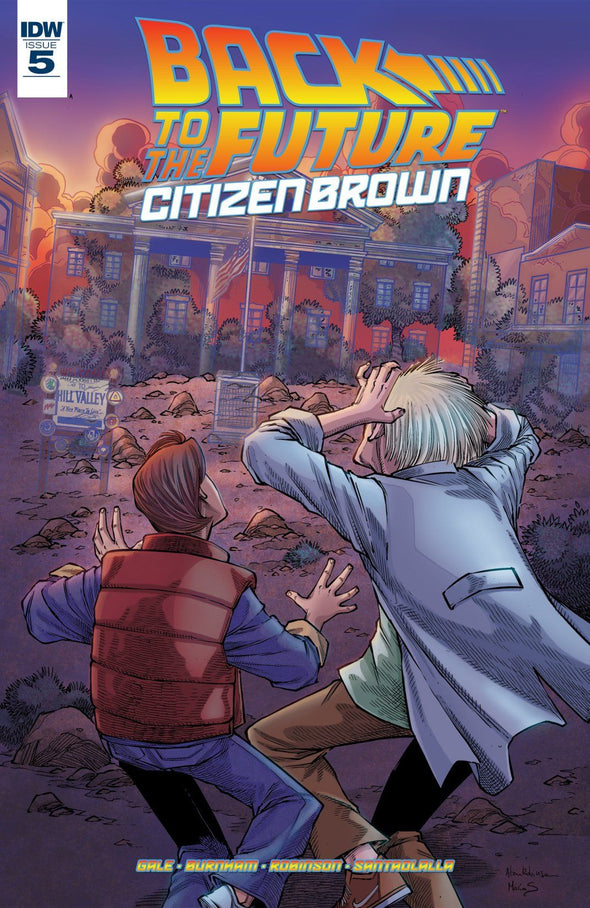 Back to the Future: Citizen Brown (2016) #05