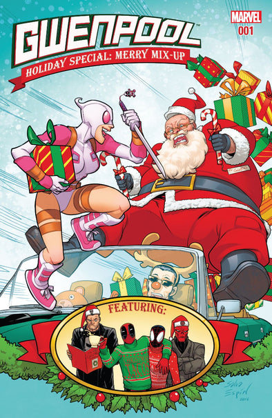 Gwenpool Holiday Special: Merry Mix-Up #01