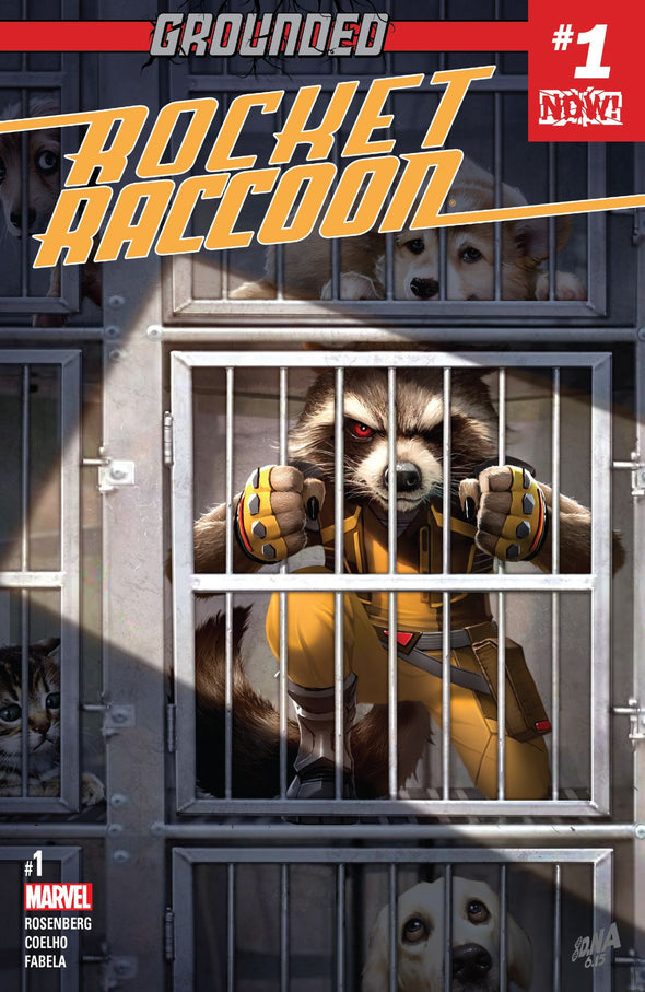 Rocket Raccoon (2016) #01