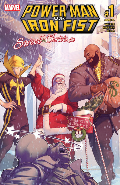 Power Man & Iron Fist (2016): Sweet Christmas Annual #1